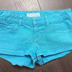 Guess Turquoise Shorts